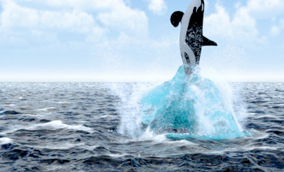 3dsmax 快速设置无限海面