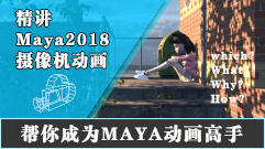 4W?系列——Maya摄像机动画精讲
