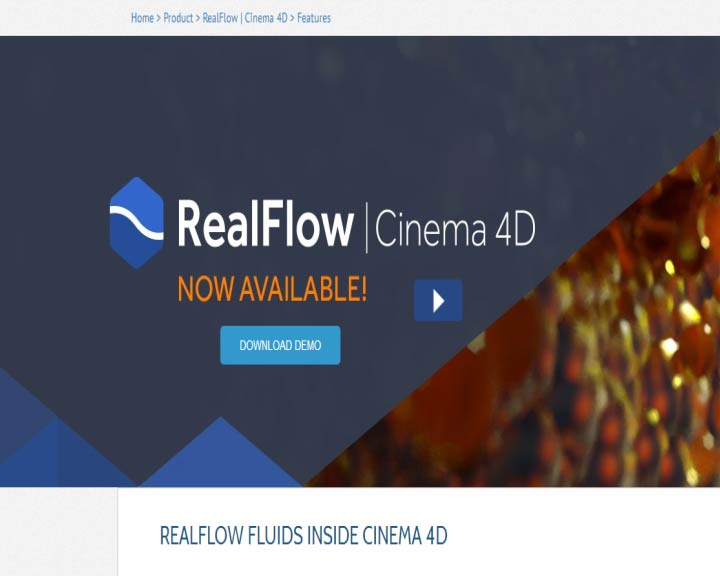 Realflow inside c4d 使用教程