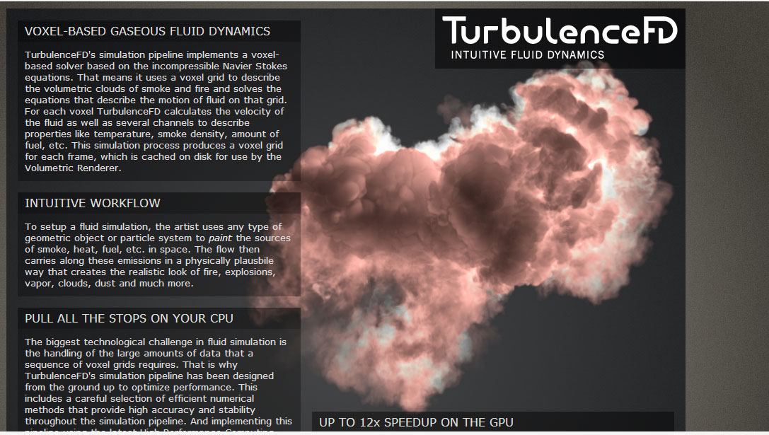 Realflow for C4D 与 TurbulenceFd 整合