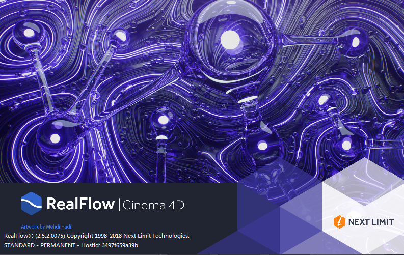 Realflow for C4D 结合 Particular 制作拖尾