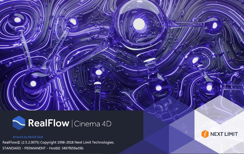 Realflow for C4D 结合 Particular 制作拖尾