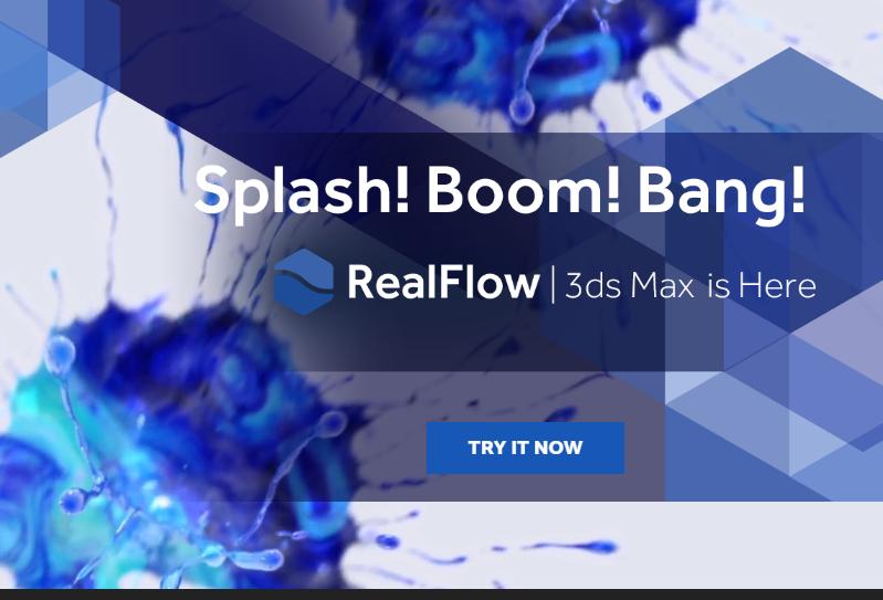 realflow   inside   3ds max -- 基本工作流程