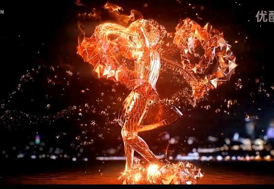 AE视频包装制作PF粒子f打造火焰舞者中粒子效果