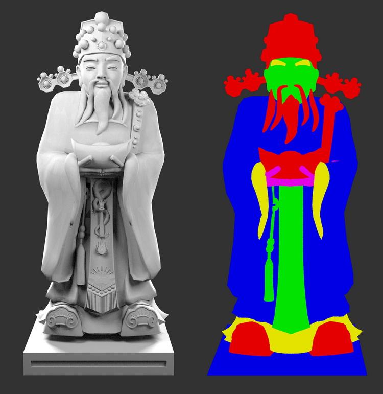 如何使用vray渲染器渲染RGB通道图