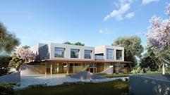 建筑渲染与后期经典案例之常规别墅制作