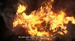 C4D TFD火焰燃烧LOGO展示