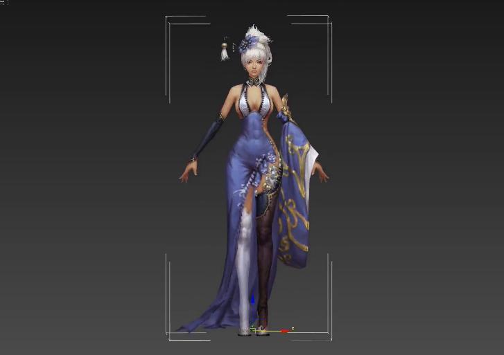 3D游戏模型高级布料绘制技术